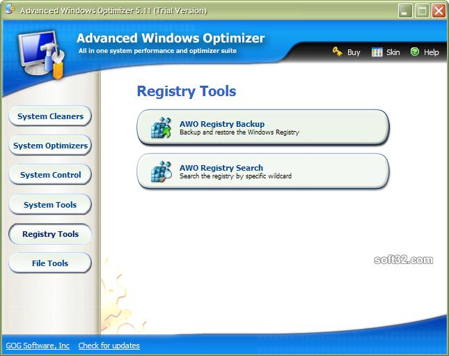 Advanced Windows Optimizer Screenshot 6