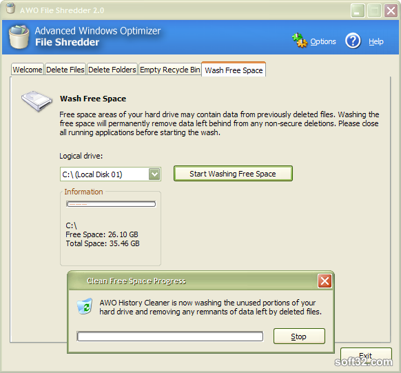 Advanced Windows Optimizer Screenshot 7