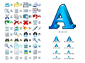 Word Icon Library 1