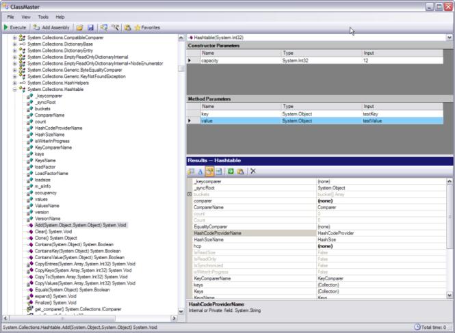 ClassMaster Screenshot