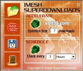 Imesh SuperDownloads Screenshot