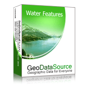 GeoDataSource World Water Features Database (Basic Edition) Screenshot