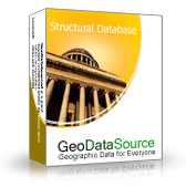 GeoDataSource World Structural Features Database (Gold Edition) Screenshot