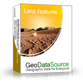GeoDataSource World Land Features Database (Gold Edition) Screenshot