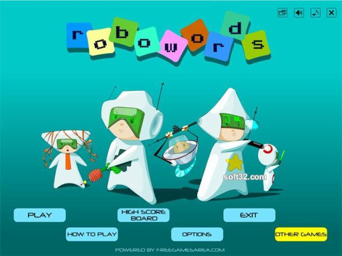 Robowords Screenshot 1