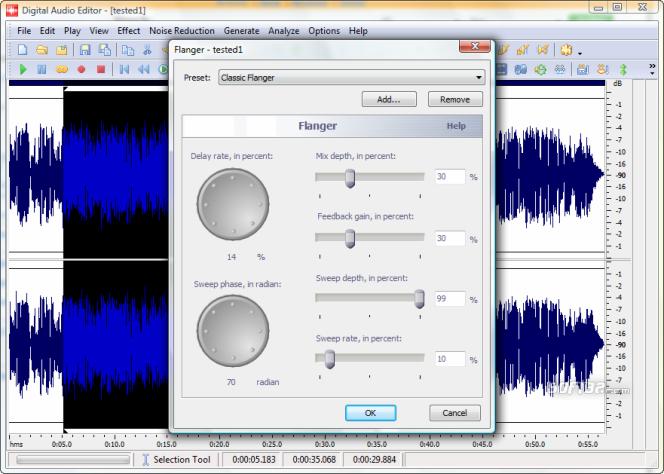 Digital Audio Editor Screenshot 2