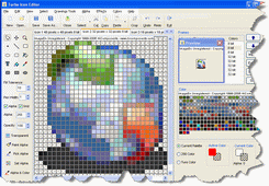 Turbo Icon Editor Screenshot