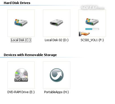 Vista Drives Screenshot 3