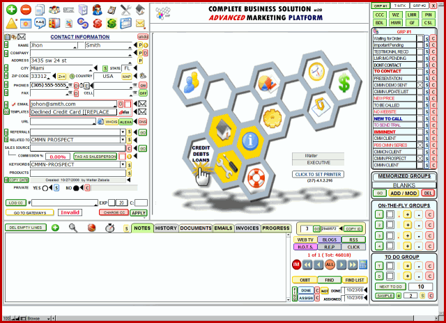 Credit Money Machine Net Screenshot