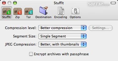 StuffIt Standard Screenshot 4