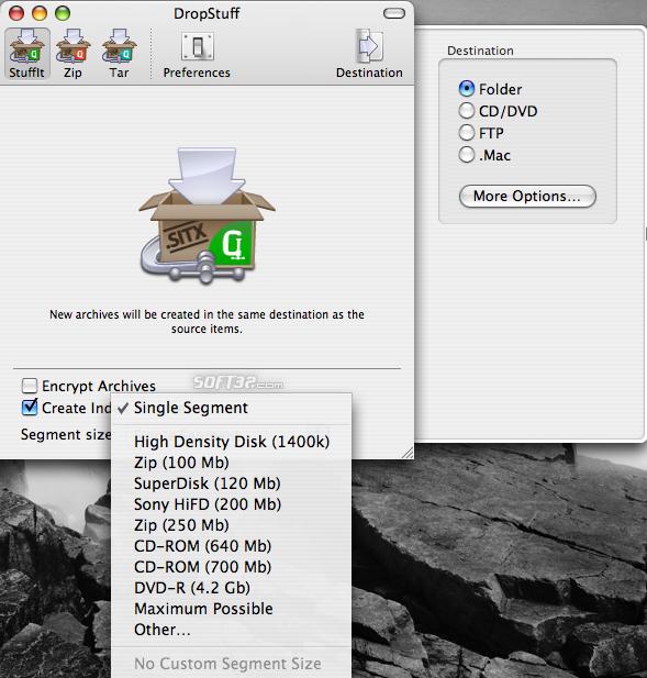 StuffIt Standard Screenshot 1