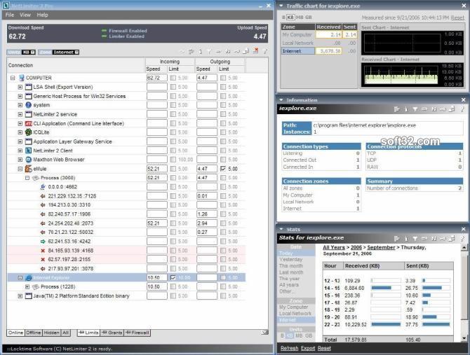 NetLimiter 2 Pro Screenshot 3