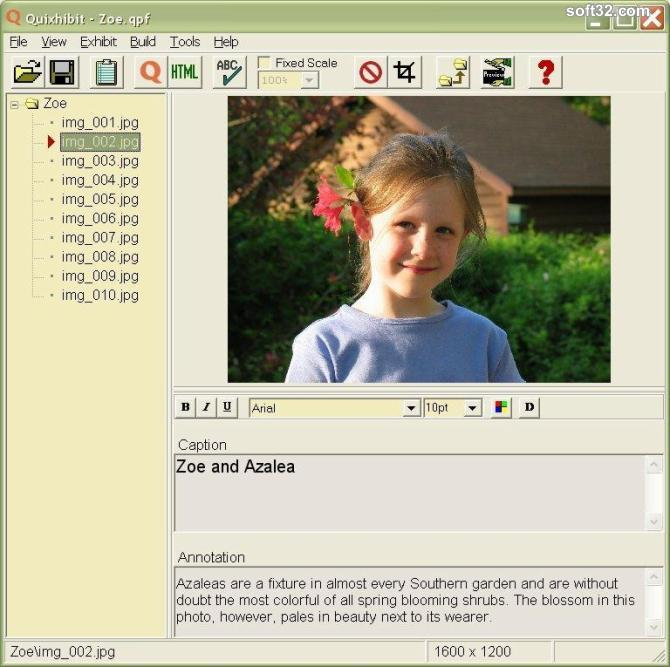Quixhibit Screenshot 3