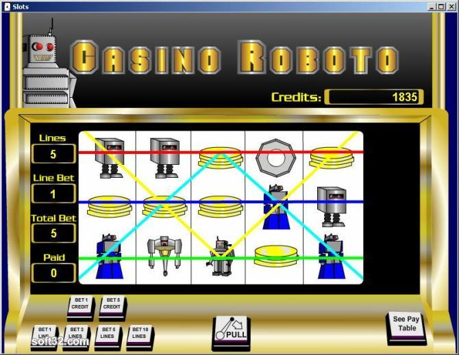 Robo Slots Screenshot 3