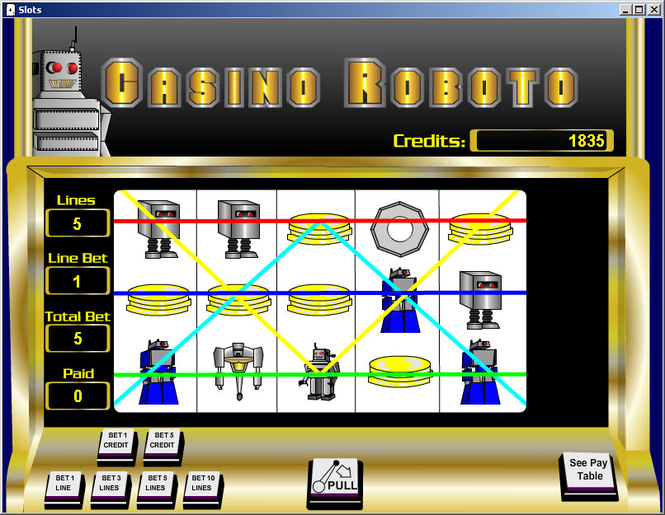 Robo Slots Screenshot 1