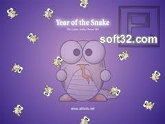 ALTools Lunar Zodiac Snake Wallpaper Screenshot 2