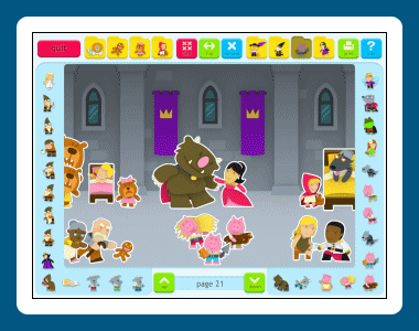 Sticker Book 4: Fairy Tales Screenshot 1