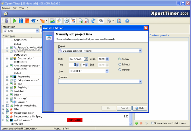Xpert-Timer Screenshot 3