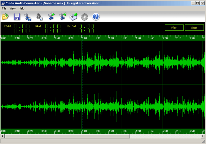 Meda Audio Converter Screenshot