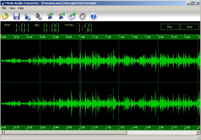 Meda Audio Converter Screenshot 1