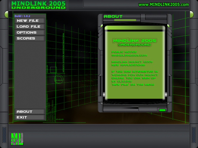 Mindlink 2005 Undeground Screenshot