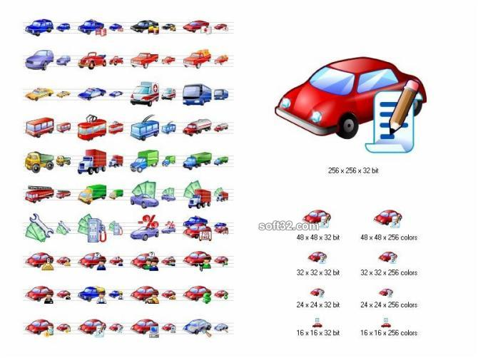 Car Icon Library Screenshot 2