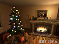 Christmas Fireplace 3D Screensaver 1
