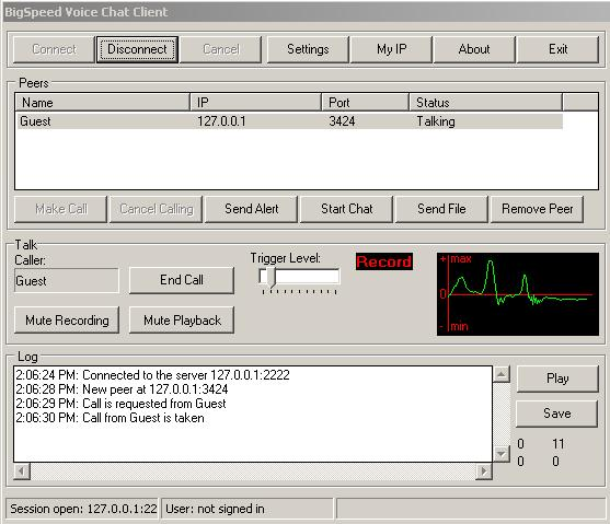 BigSpeed Voice Chat SDK Screenshot