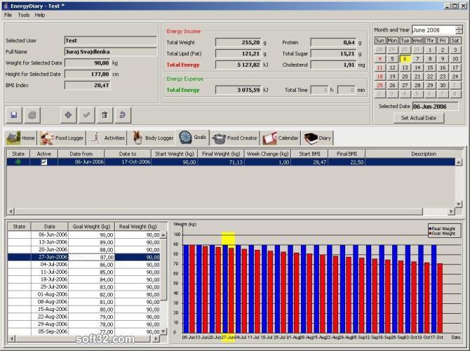 Energy Diary Screenshot 2