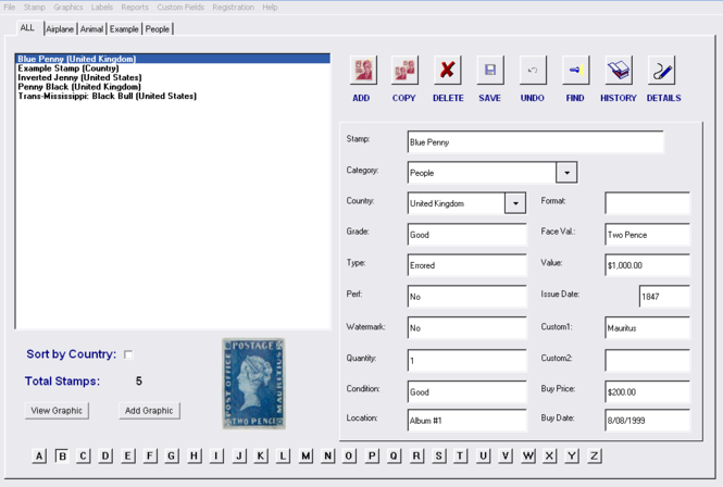 Stamp Collector Screenshot
