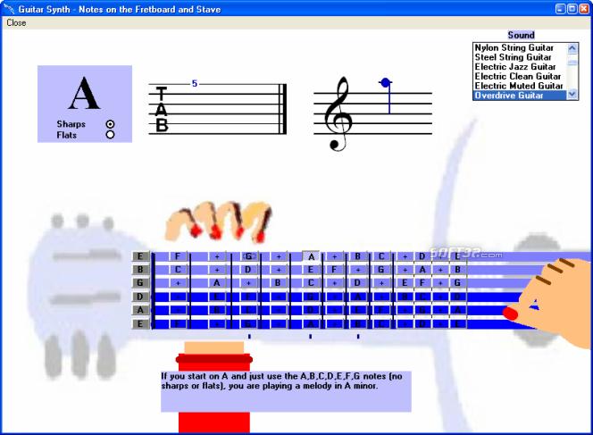Guitar Learning Software Screenshot 4