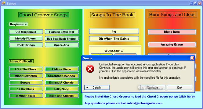 Guitar Learning Software Screenshot 7