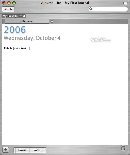 viJournal Lite Screenshot 6