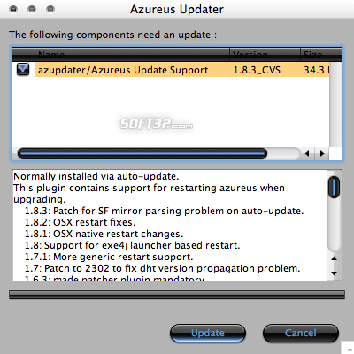 Azureus for Mac Screenshot 2