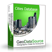 GeoDataSource World Cities Database (Basic Edition) Screenshot
