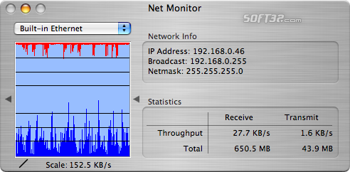 Net Monitor Screenshot