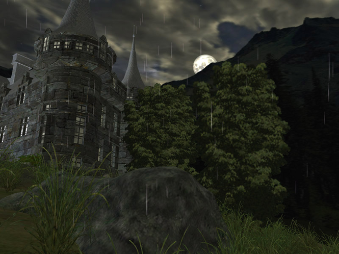 Dark Castle 3D Screensaver Screenshot