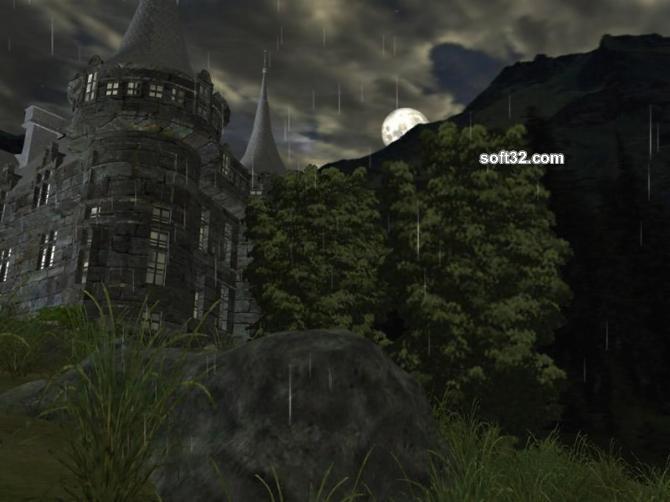 Dark Castle 3D Screensaver Screenshot 2