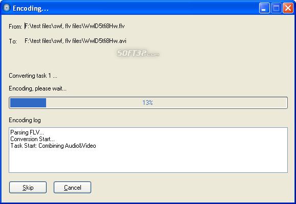 Moyea FLV to Video Converter Pro 2 Screenshot 3