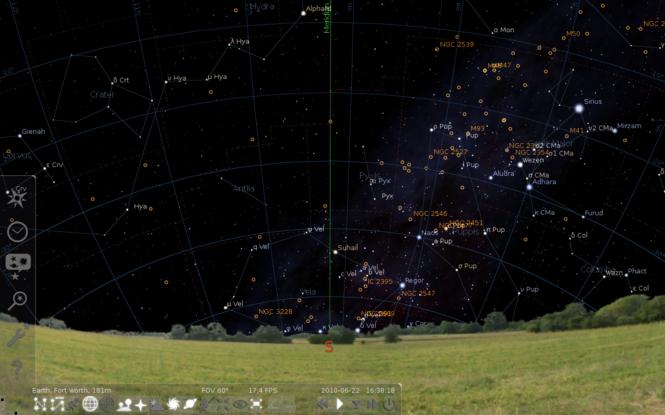 Stellarium Screenshot 2