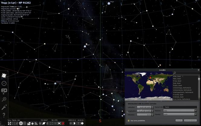 Stellarium Screenshot 3