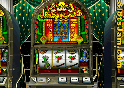Tres Amigos Slots Screenshot