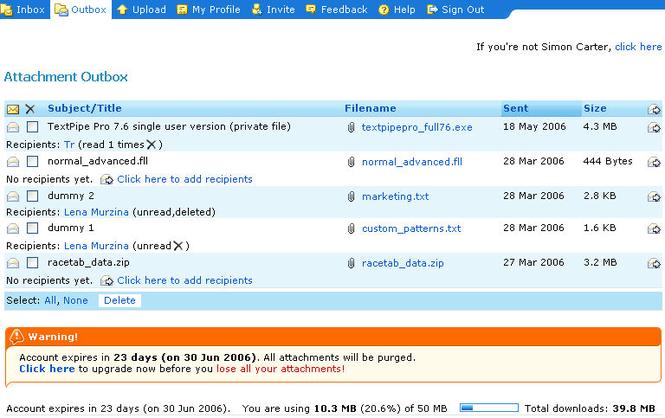 DetachPipe.com Server Screenshot 2