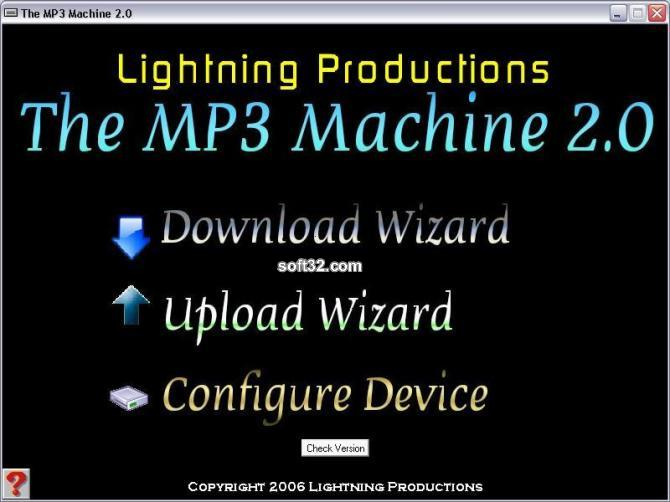 The MP3 Machine Screenshot 1