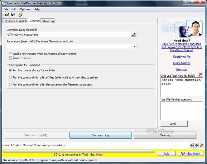 File and Folder Watcher Screenshot 5