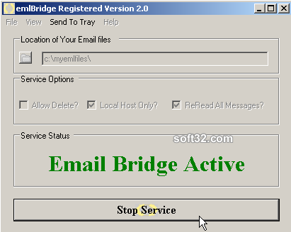 emlBridge Screenshot 2
