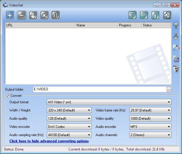 VideoGet Screenshot 3
