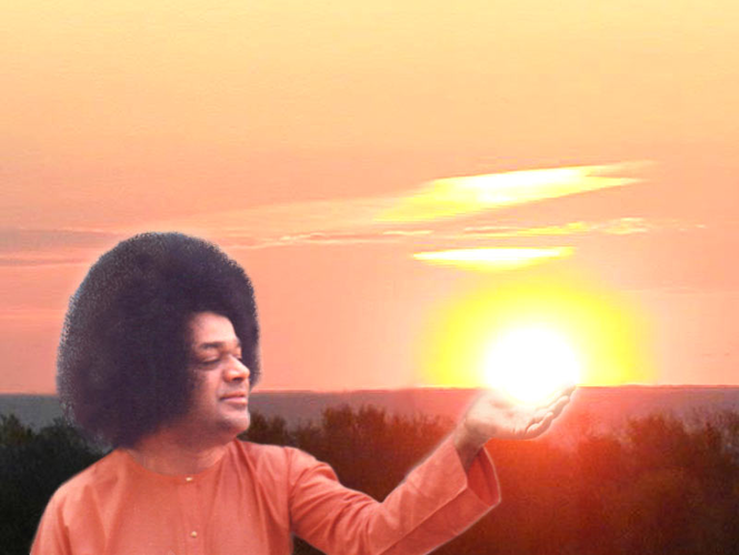 Avatar Sathya Sai Baba screensaver Screenshot