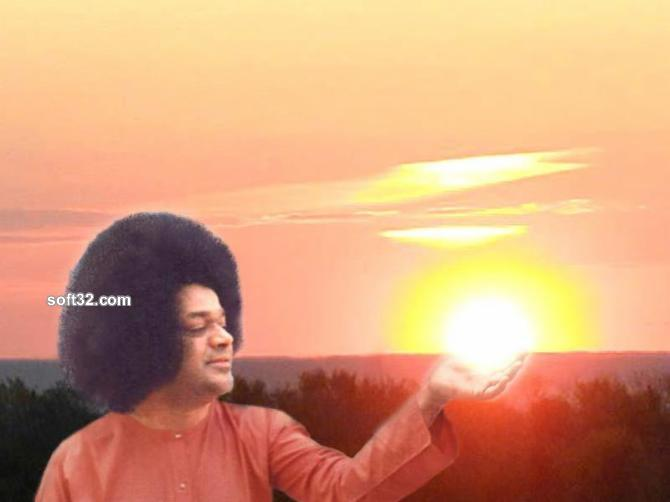 Avatar Sathya Sai Baba screensaver Screenshot 2