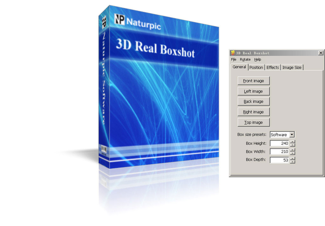 3D Real Boxshot Screenshot
